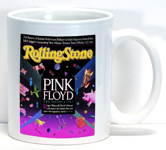 Pink Floyd Rolling Stone Cover Coffee Cup Ceramic Mug New Gift Music Novelty