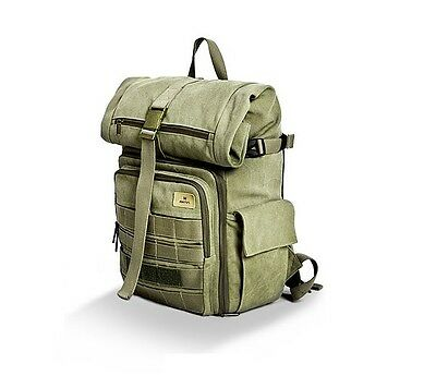 MATIN Roll Top Camera Bag Backpack Waterproof Bag For D-SLR SLR RF Lens - Green