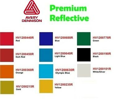 15 Premium Avery Reflective Sign Vinyl By The Yard U Pick