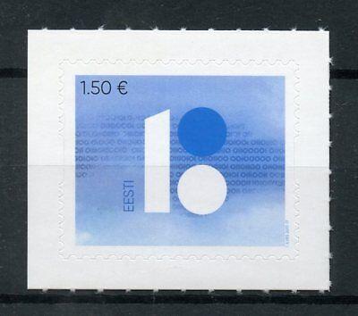 Estonia 2017 MNH Republic of Estonia 100 Years 1v S/A Set Politics Stamps