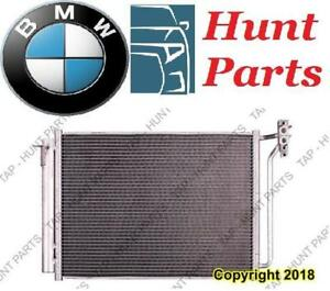 All BMW AC compressor Condenser Radiator Support Fan Cooling Compresseur AC Condenseur Radiateur Support Ventilateur