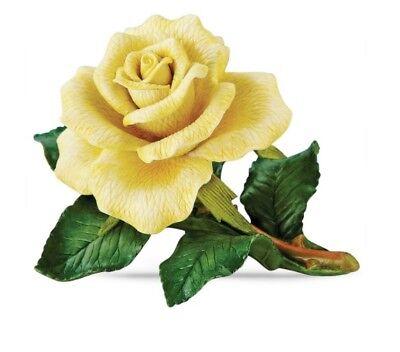 Lenox Yellow Rose Garden Flower Figurine  NEW IN BOX ()