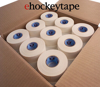 "72 Rolls of White Howies Cloth Hockey Stick Tape 1""X25 yds"