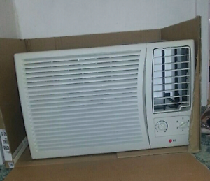 LG 2.08 KW cooling only window/wall aircon Andrews Farm Playford Area Preview