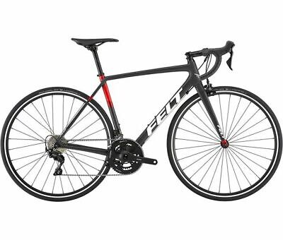 "Felt FR5 Road Bike 2019 Matt Carbon-Red 56cm (22"") 700c"