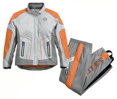 Harley-Davidson women's 2W Midpoint colorblock waterproof rain suit 98203-17VW