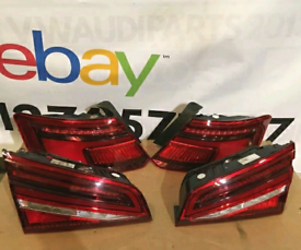Audi hatchback dynamic rear lights