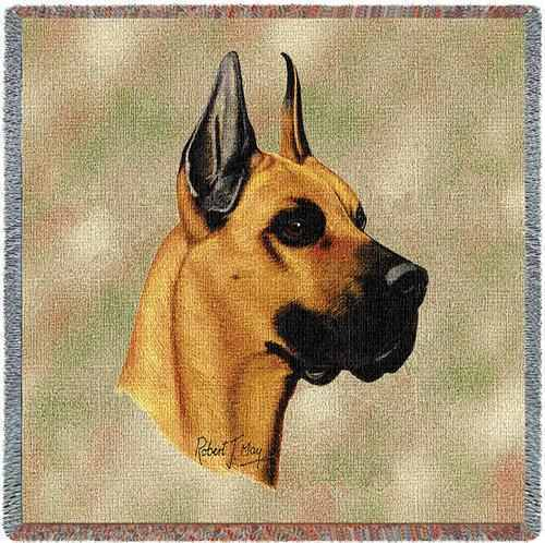 Lap Square Blanket - Great Dane by Robert May 1156