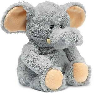 Intelex Cozy Plush Microwavable Scented Heat Packs Animals Soft Toy - Elephant