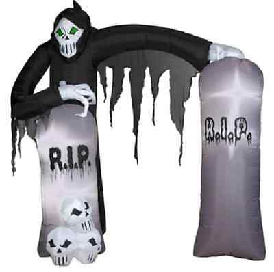 New Reaper Archway Inflatable - Airblown Yard Decoration Halloween Prop Gemmy](Halloween Archway Inflatable)
