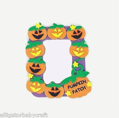 Pumpkin Patch Halloween Magnetic Frame Craft Kit ABCraft Kids Photo Costumes - Halloween Magnet Craft