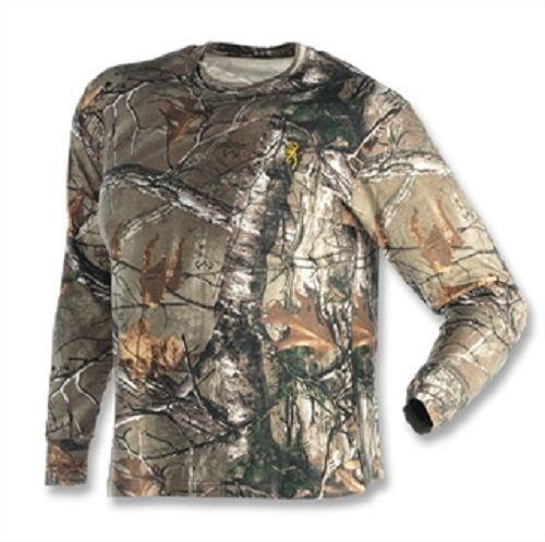 BROWNING REALTREE XTRA LONG or SHORT SLEEVE Camo T-shirts S-2XL 3XL HUNTING TEES