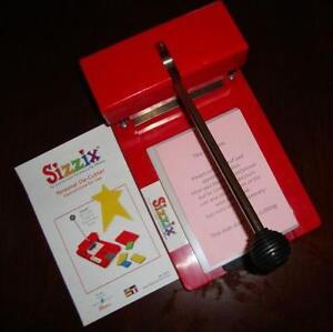 Sizzix Machine Ebay