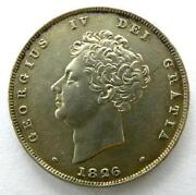 George IV Shilling