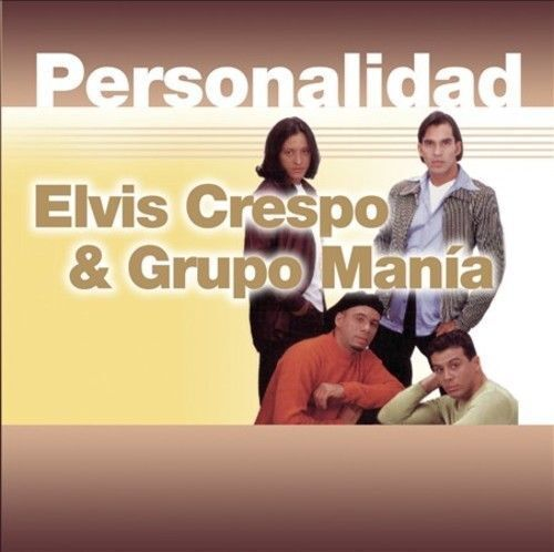 PERSONALIDAD * [ELVIS CRESPO/GRUPO MAN¡A] NEW CD SEALED