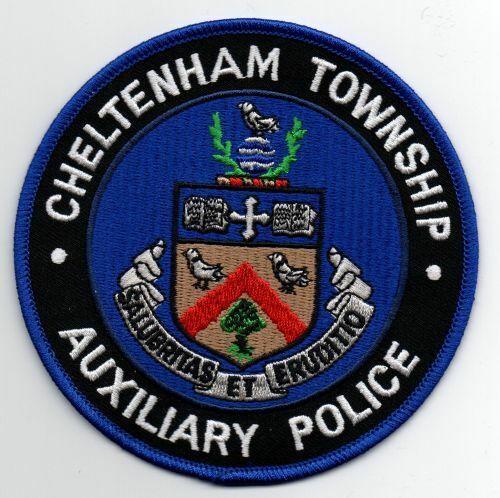 PENNSYLVANIA PA CHELTENHAM TOWNSHIP POLICE BICYCLE UNIT NEW PATCH SHERIFF