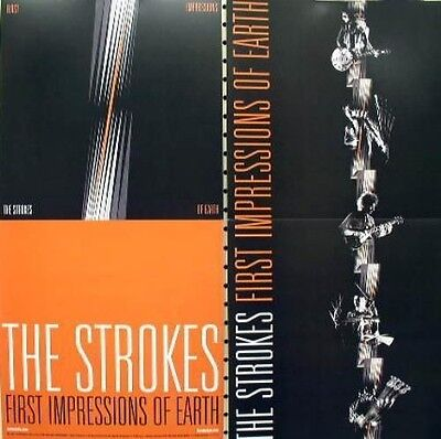 THE STROKES 2006 first impressions 2 sided promotional poster  NEW old stock