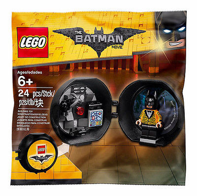 LEGO 5004929 Batman Movie Batman Battle Bat Pod Polybag Tiger Tuxedo Suit New
