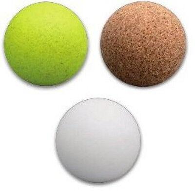 3 Stück farbige  Kickerball Kickerbälle Ball Bälle Kork