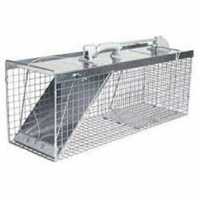 NEW HAVAHART USA MADE 1085 LARGE 32X12X10 EASY SET LIVE COON ANIMAL TRAP CAGE  ()