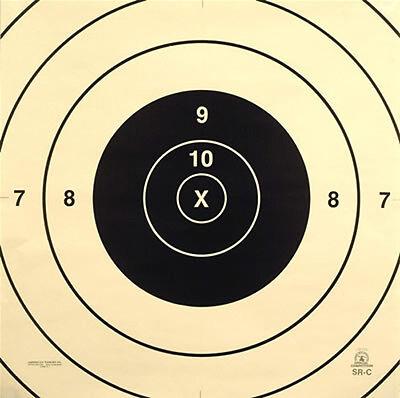 SR-C Official NRA 200 Yard High Power Rifle Target Center, 24