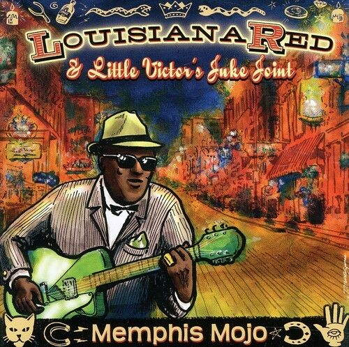 Louisiana Red, Louisiana Red & Little Vic - Memphis Mojo [New CD] Jewel Case Pac