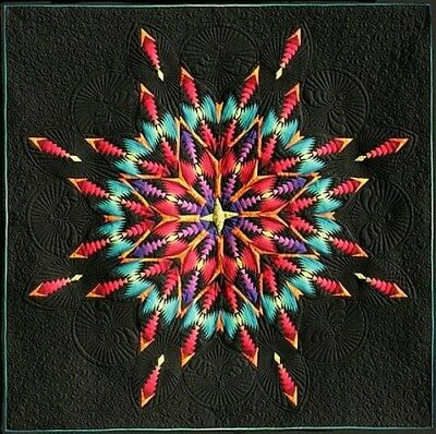 Fireworks Pattern - Lakeview Quilting - Fireworks - Paper Pieced Pattern