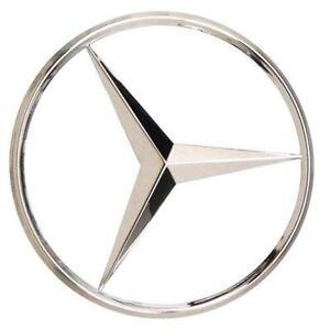 Mercedes star emblem ebay for Mercedes benz star emblem