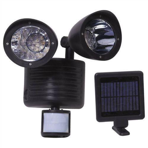 Porch Light Without Electricity: Outdoor Solar PIR Light