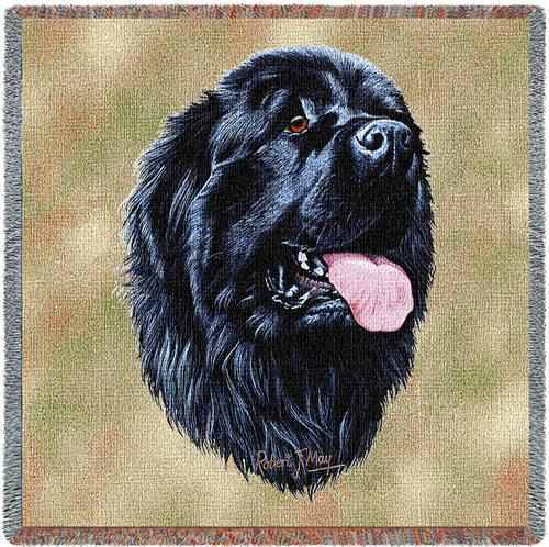 Lap Square Blanket - Newfoundland by Robert May 1155 IN STOCK