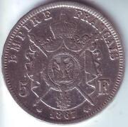 Napoleon III Coin