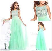 Long Green Evening Dress