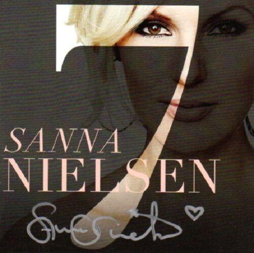 CD Sanna Nielsen, 7 , Seven, SIGNIERT SIGNED Schweden, Eurovision 2014 Undo NEU