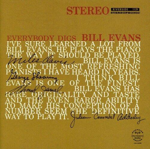 Bill Evans - Everybody Digs Bill Evans: Keepnews Collection [New CD] Bonus Track