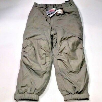 GEN III Level 7 Pants Large Regular ECWCS Grey Primaloft Cold Weather Trousers ()