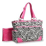 Zebra Print Diaper Bag