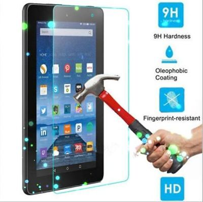 2X Tempered Glass Screen Protector for Amazon Kindle Fire HD 8 Inch 2016