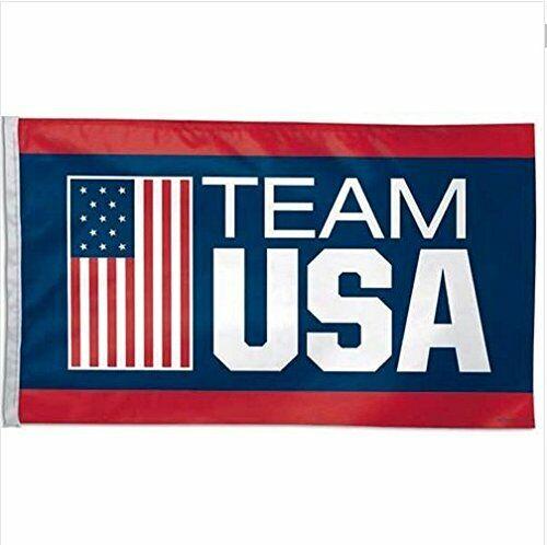 USA Olympic Team Hanging Banner Flag 3x5ft Flag Man Cave Gar