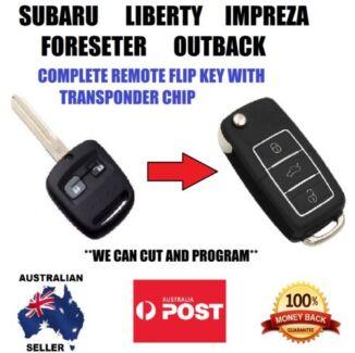 Subaru Liberty Forester Outback Impreza Remote flip key
