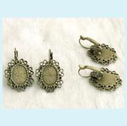 Cabochon Earring Setting