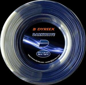 DYREEX DARKWAVE 1.25 TENNIS STRING , 200 M REEL , NEW