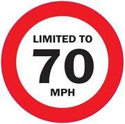 Speed Limit Stickers
