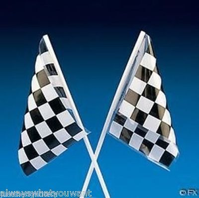 12 Nascar Race Car Birthday Party FAVORS Bags Fillers Checkered Racing FLAGS