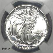 Walking Liberty Half Dollar NGC