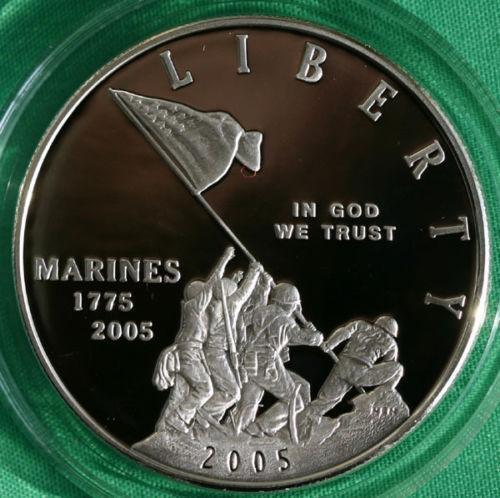 Marine Corps 230th Anniversary Silver Dollar Ebay