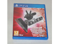 SONY PLAYSTATION PS4 GAME THE VOICE PAL ITV BIG BEN WILL I AM QUEEN BIEBER BRUNO
