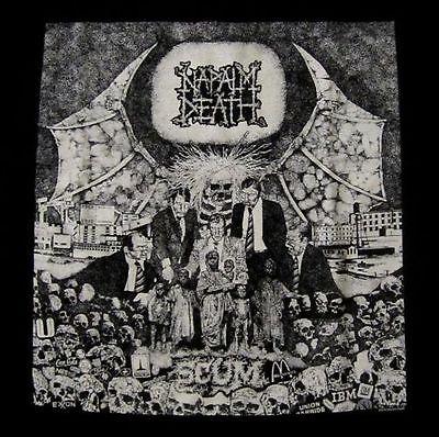 NAPALM DEATH cd cvr SCUM Official SHIRT Size MED new