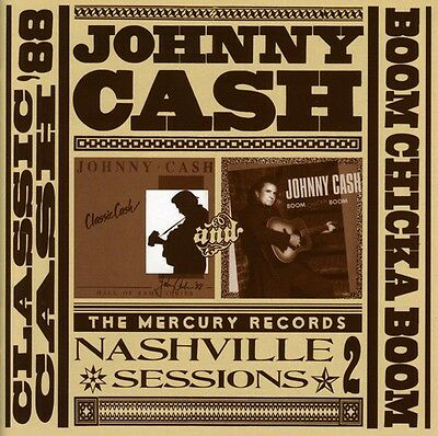 Johnny Cash   Classic Cash Boom Chicka Boom  New Cd  Germany   Import