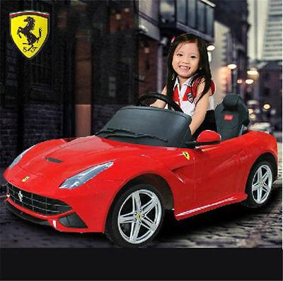 licensed ferrari f12 berlinetta 12v kids electric ride on car toy remote control