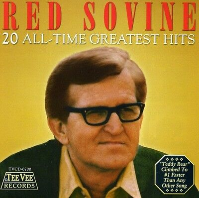 Red Sovine   20 All Time Greatest Hits  New Cd